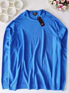 2XL Новый мужской свитерок тонкой вязки