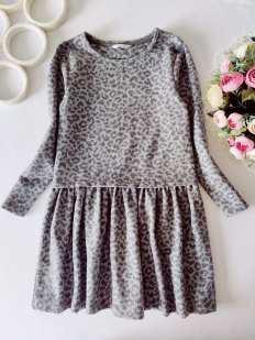 8 лет, рост 128 Теплое детское платье