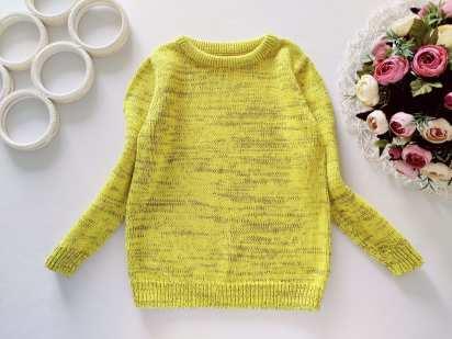 5 лет, рост 110 Яркий свитер