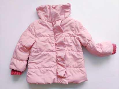 9\12 мес, на годик Zara (Зара) Легенькая курточка, по типу ветровки для девочки