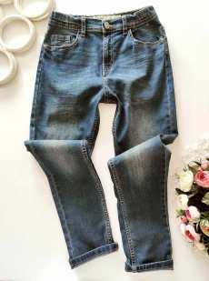 10,11 лет, рост 146 Стрейчевые джинсы