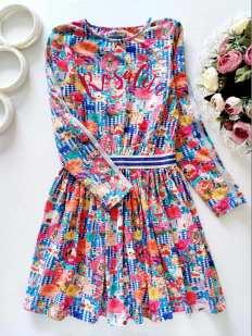 8 лет, рост 128 Детское платье