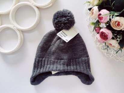 1,5-4 года, рост 92,104 Новая теплая шапка, зима