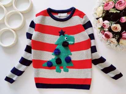 3,4 года, рост 104 Красивый свитер