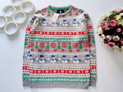 13 лет, рост 158 Новый детский новогодний свитер
