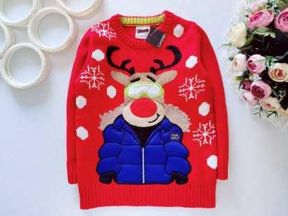 4,5 лет, рост 104,110 Новый детский свитер
